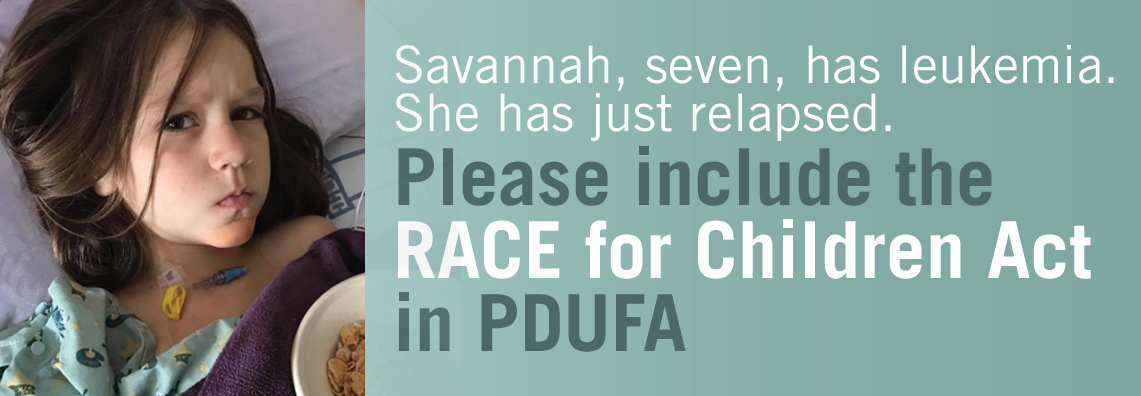 Support Savannah and Race for Children Act