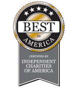 Awarded Best in America Seal of Excellence by Independent Charities of America