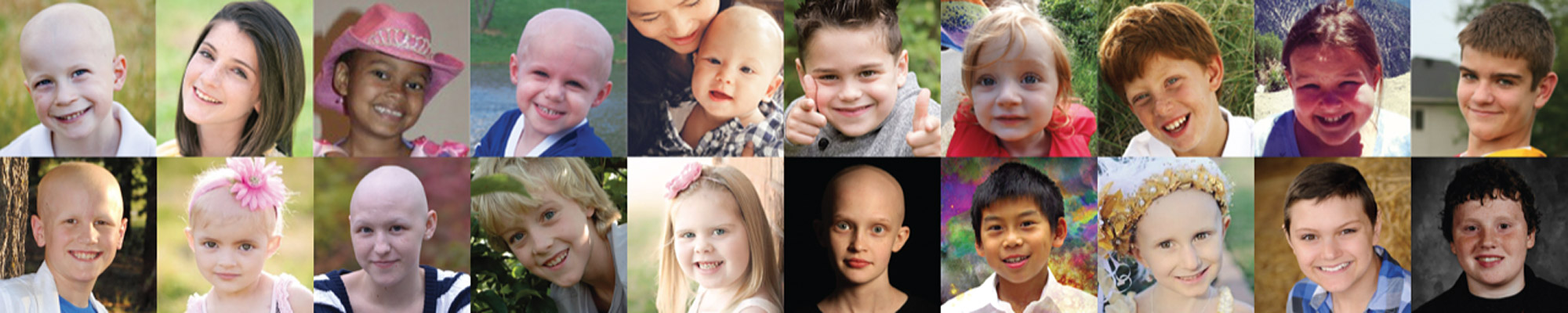 Faces of childrens cancer