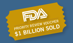 FDA Priority Review Vouchers - over $1 Billion sold