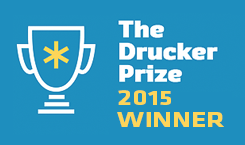 Winner of the Peter F. Drucker Award for Nonprofit Innovation