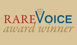 Nancy Goodman, recipient of Rare Voice award