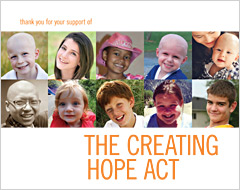 Thank You Book in Support of The Creating Hope Act